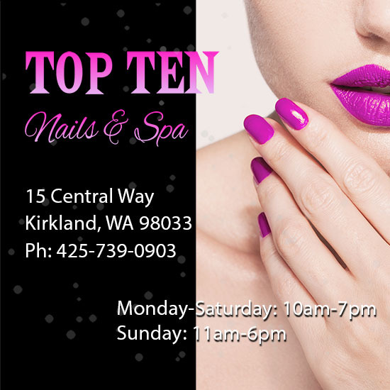Top Ten Nails & Spa listing image 1