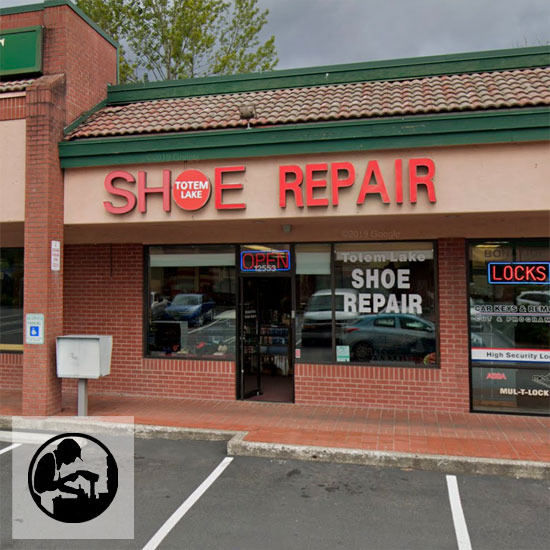 image of Totem Lake Shoe Repair
